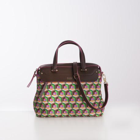 Kabelka / taška do ruky – malá (S Handbag) Oilily, kolekce GEO DIAMONDS