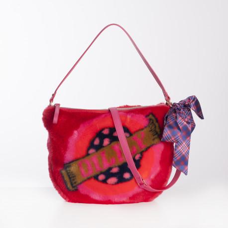 Kabelka / taška přes rameno (Shoulder Bag) Oilily, kolekce FUR JACQUARD