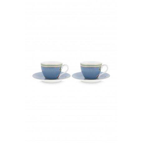 PIP set/2 espresso šálky La Majorelle blue 120ml