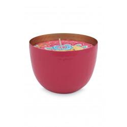 PIP miska se svíčkou růžová dia 11cm