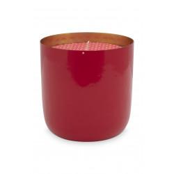 PIP miska se svíčkou červená dia 9cm