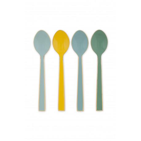 PIP příbory set/4 smalt, multi color 16cm