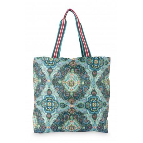 Kabelka, taška na nákup (Foldable Bag Moon Delight Blue), Pip Studio