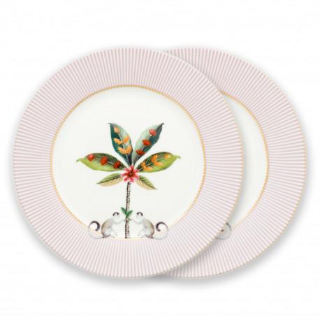 """PIP """"La Majorelle"""" talíř růžový 21cm"""