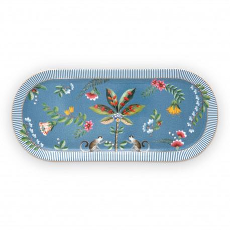 PIP talíř na sladkosti La Majorelle blue 33,3x15,5cm