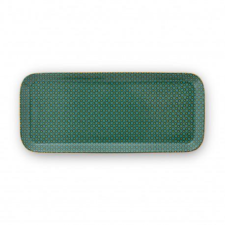 """PIP """"BA"""" podnos Twinkle Star zelený 27x12x1,5cm"""