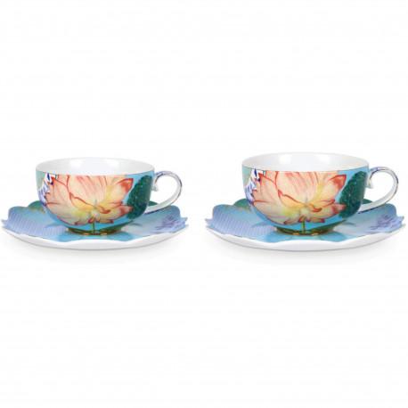 PIP set/2 čajový šálek Royal Flowers 225ml