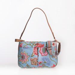 Kabelka / taška plochá na rameno - střední (M FLAT SHOULDER BAG) Oilily, kolekce Royal Sits