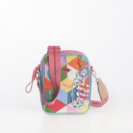 Taška přes rameno – malá (S SHOULDER BAG) Oilily, kolekce Color Block
