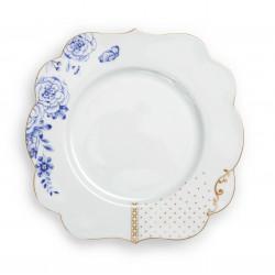 Pip Studio Royal White talíř, 23,5cm