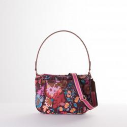 Kabelka / plochá taška přes rameno – střední (M FLAT SHOULDER BAG) Oilily, kolekce AMELIE SITS