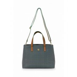 Pip studio Shopper Star Tile, S, tmavě modrý