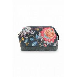 Pip studio kosmetická taška Flower Festival, tmavě modrá