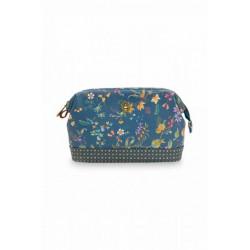 Pip studio kosmetická taška Petites Fleurs, tmavě modrá