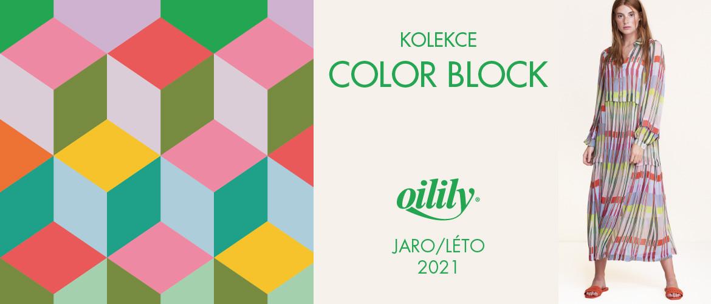 Kolekce COLOR BLOCK JARO LÉTO 2021
