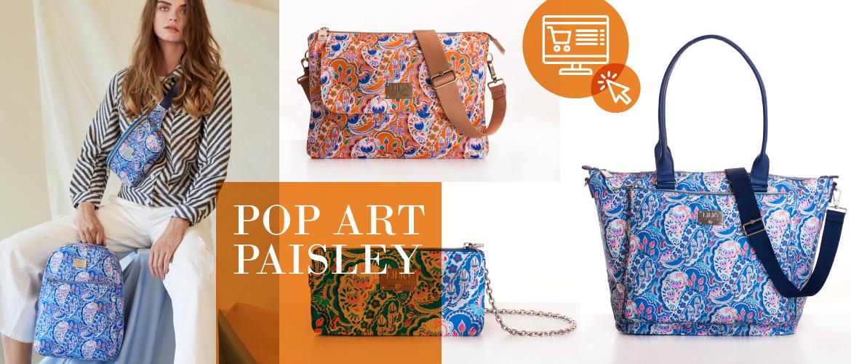 Kolekce Pop art paisley