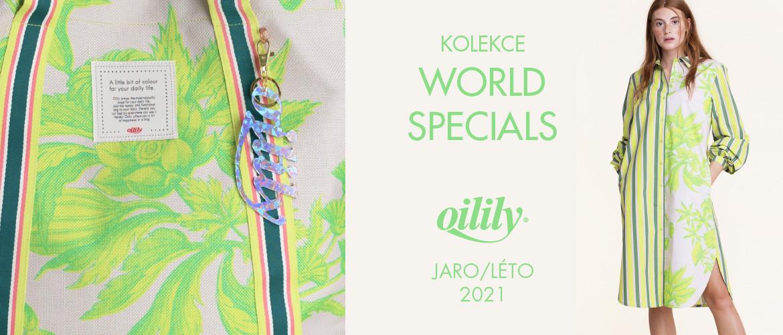 Kolekce WORLD SPECIALS JARO LÉTO 2021